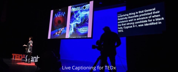 Live Captioning for TEDx (1)